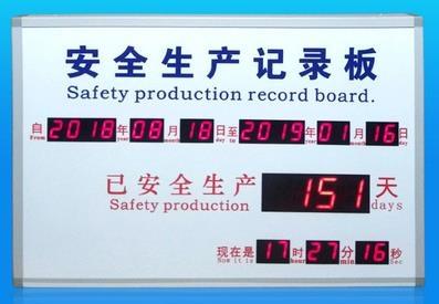 生产调度LED显示屏
